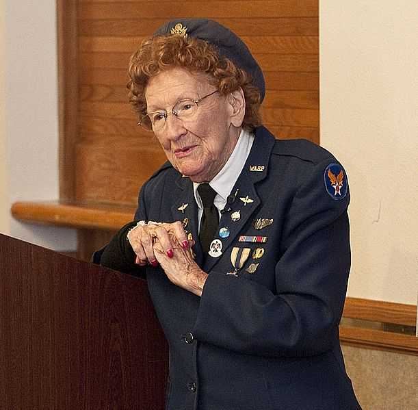 Photograph of Betty Strohfus, September 27, 2012.