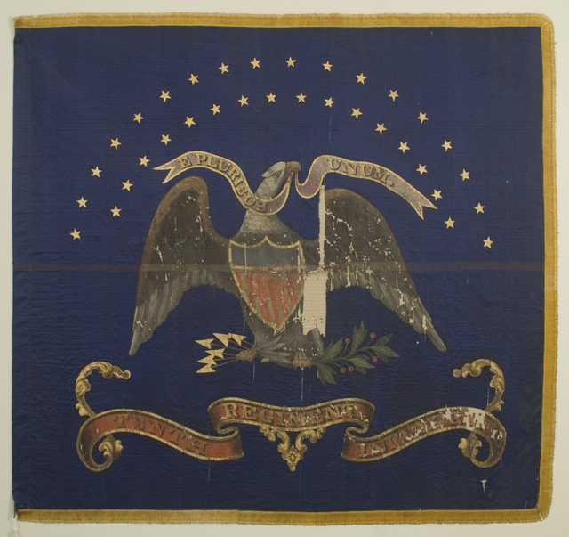 10th Minnesota regimental battle flag