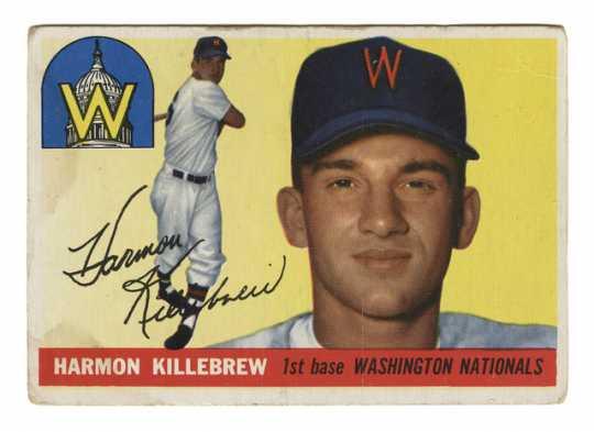 Harmon Killebrew baseball card
