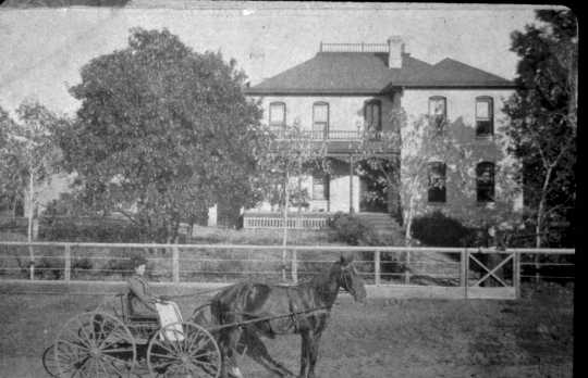 The Porter Kelsey House in Andover, ca. 1910. Photographer unknown. Anoka County Historical Society, Object ID# 0000.0000.324.