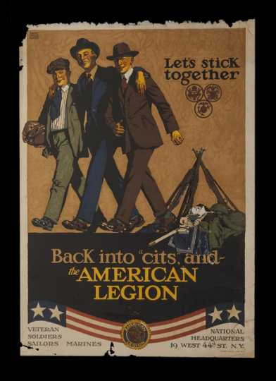 American Legion Poster, ca. 1919.