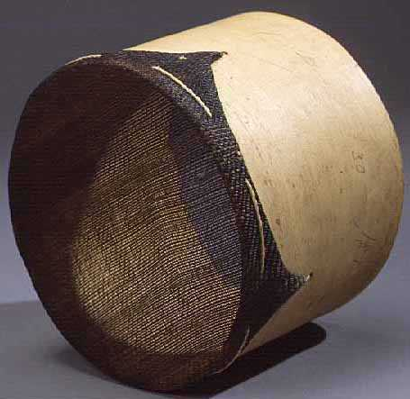 Photograph of a Sap Strainer