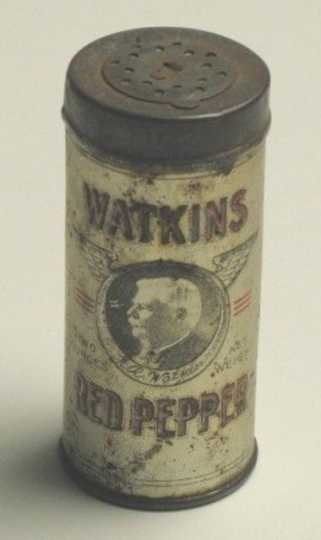 Red pepper canister