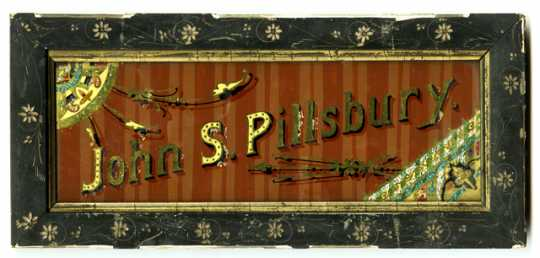 John S. Pillsbury sign