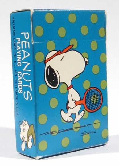 Peanuts playing cards