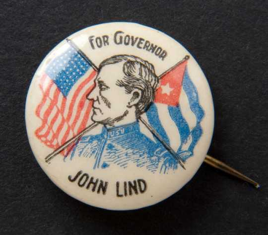 John Lind campaign button