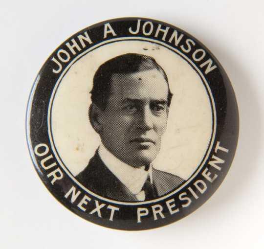 Johnson presidential campaign button