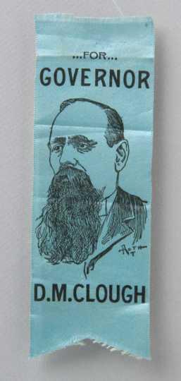 D.M. Clough campaign ribbon