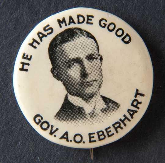 Eberhart campaign button