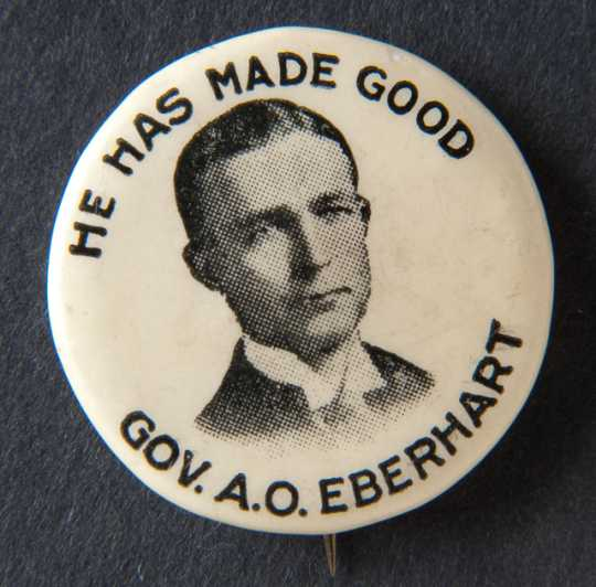 Eberhart campaign button