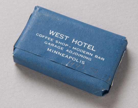 West Hotel soap bar (back)