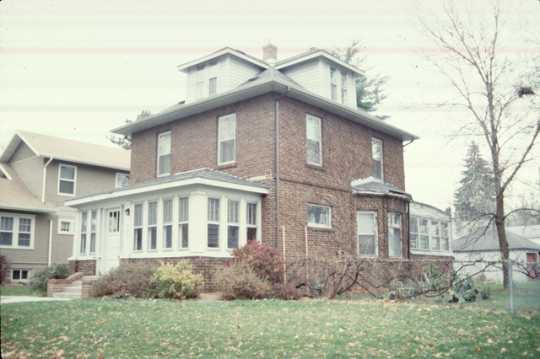 Casiville Bullard House, Side View