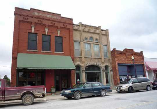 Photograph of Main Street,. Harmony