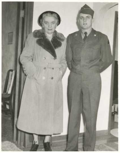Walter and Claribel Mondale