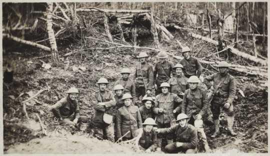 Artillerymen of the 151st Field Artillery