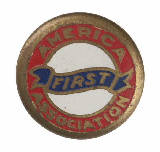 America First Association button