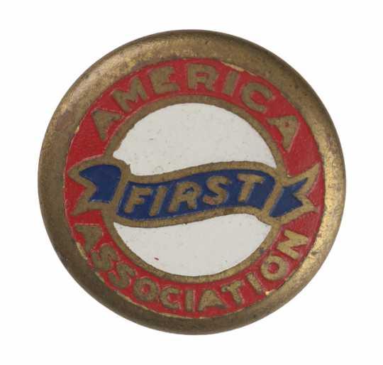 America First Association button