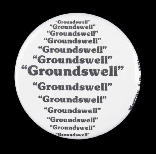 Groundswell button