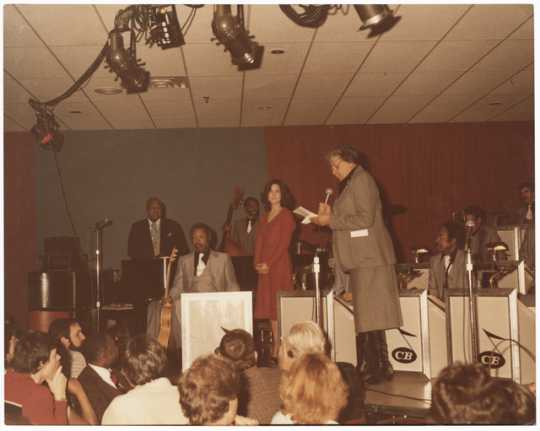Nellie Stone Johnson with the Count Basie Orchestra