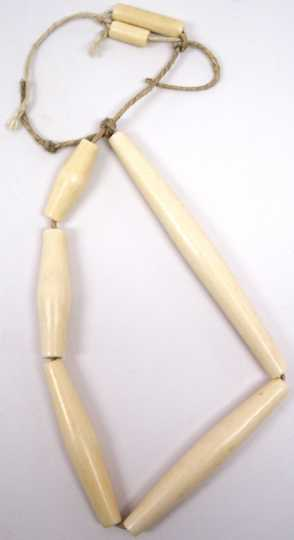 Bone trade beads