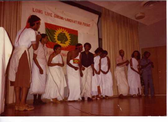 Oromo cultural show
