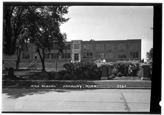 Harmony High School, 1945