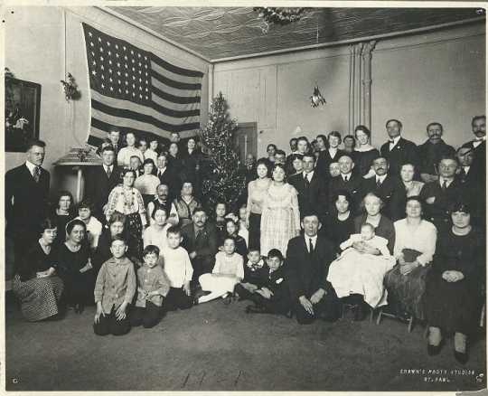 Christmas Party at the International Institute, 1920