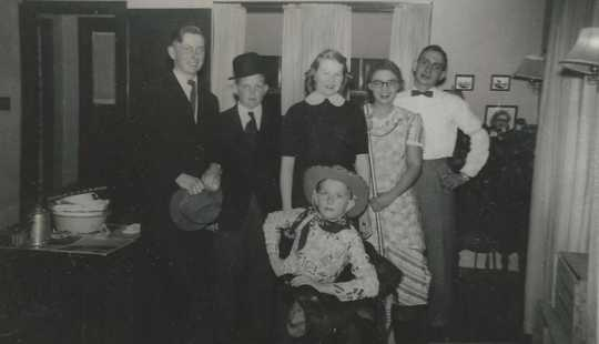 Worthwhile 4-H Club members, 1949.