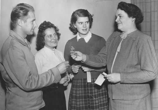 Citizenship class, 1949