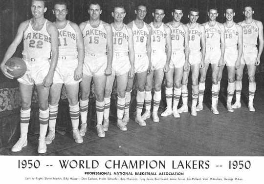 1950 Minneapolis Lakers