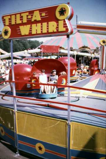 Tilt-A-Whirl at the Minnesota State Fair