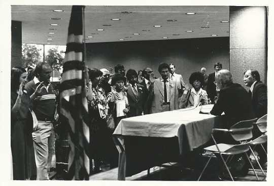 Citizenship ceremony, 1979