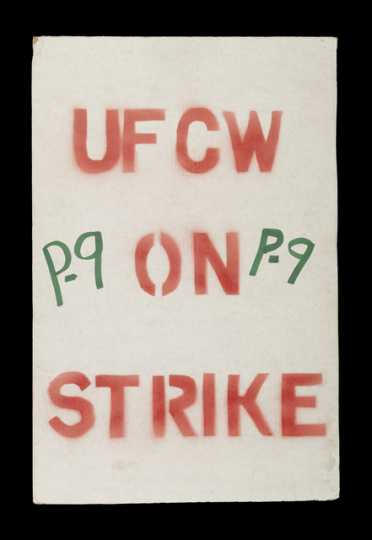 Hormel strike sign