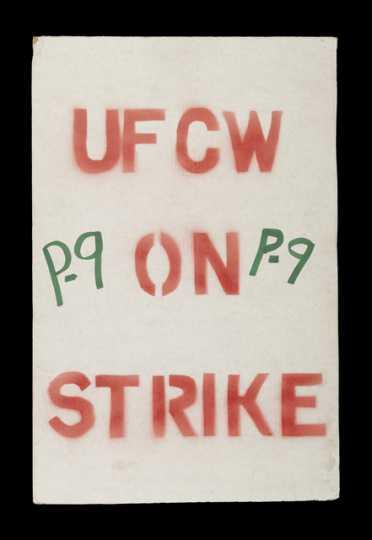 Hormel strike sign