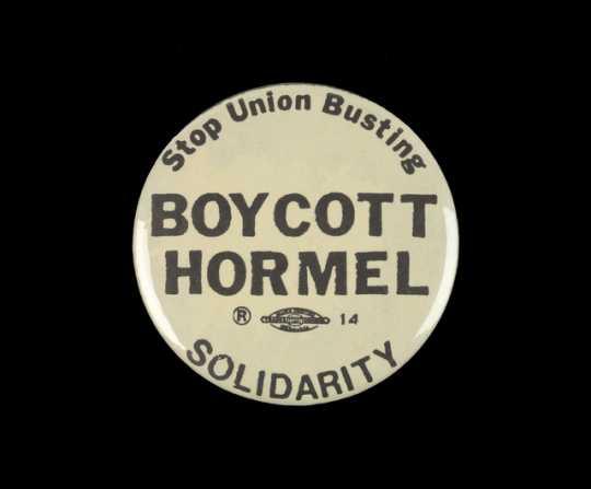Hormel strike button