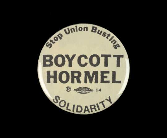 Hormel strike button