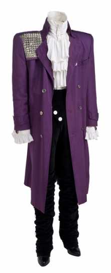 Costume worn by Prince in the movie Purple Rain