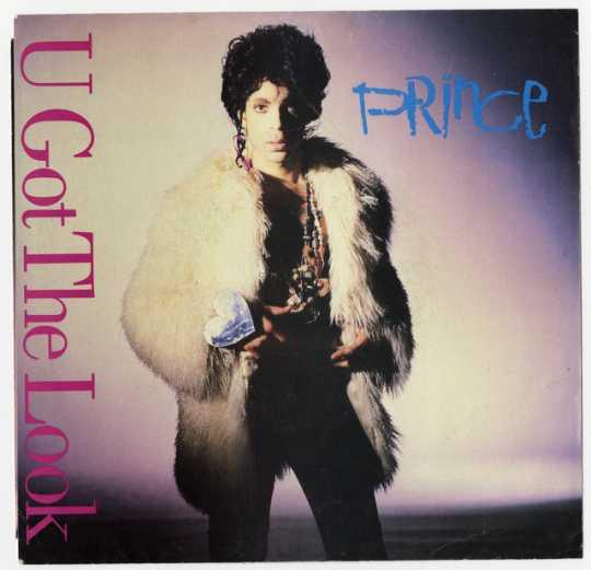 """U Got the Look"" record sleeve"