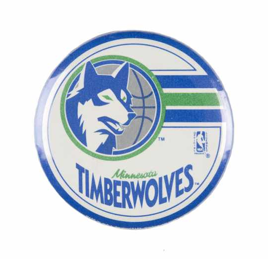 Minnesota Timberwolves button