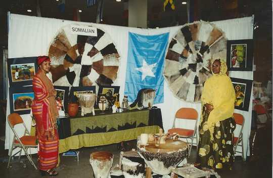 Somali cultural exhibit 1999 Festival of Nations