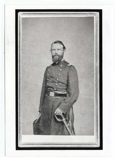 Colonel Hans Mattson, Third Minnesota Infantry.