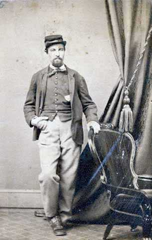 Private Adam Marty of the First Minnesota, Company B.