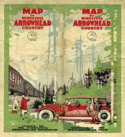 Arrowhead Country tourism brochure