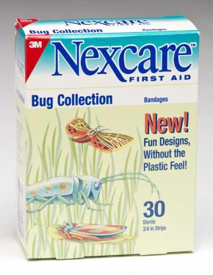 3M's Nexcare bandages, ca. 2001.