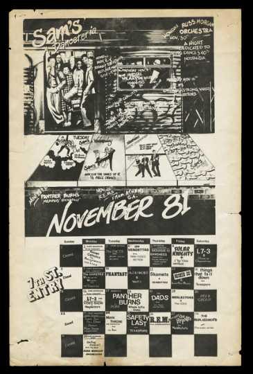 Sam's Danceteria poster