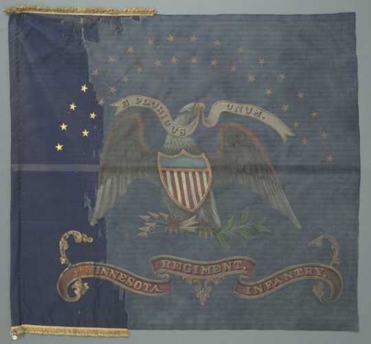 Eighth Minnesota Regimental Battle Flag
