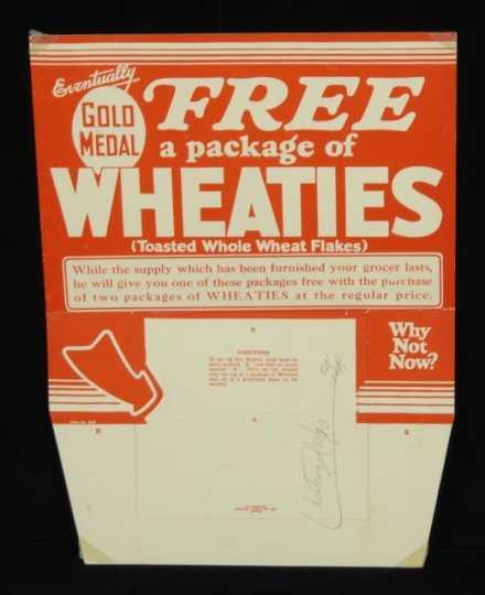 Wheaties advertising