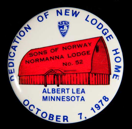 Image of Sons of Norway Button
