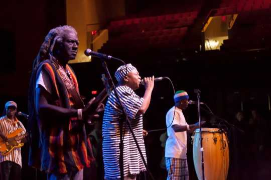 Sierra Leone Refugee All Stars performing at the 2013 Festival of Nations
