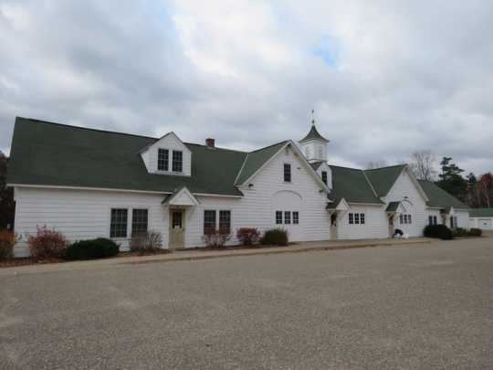 Carlos Avery Game Farm's incubation building